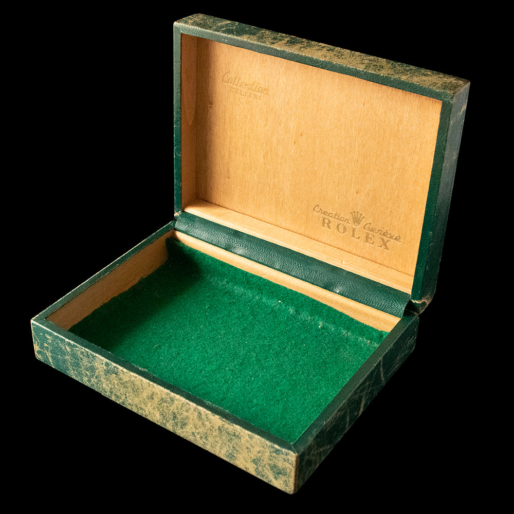 Rolex Box - Green velvet interior