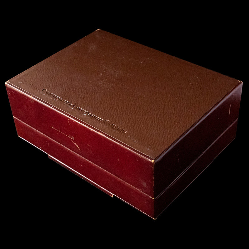 Rolex Box  - Vintage brown leather