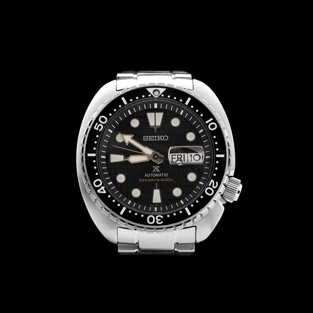 Seiko - King Turtle Black