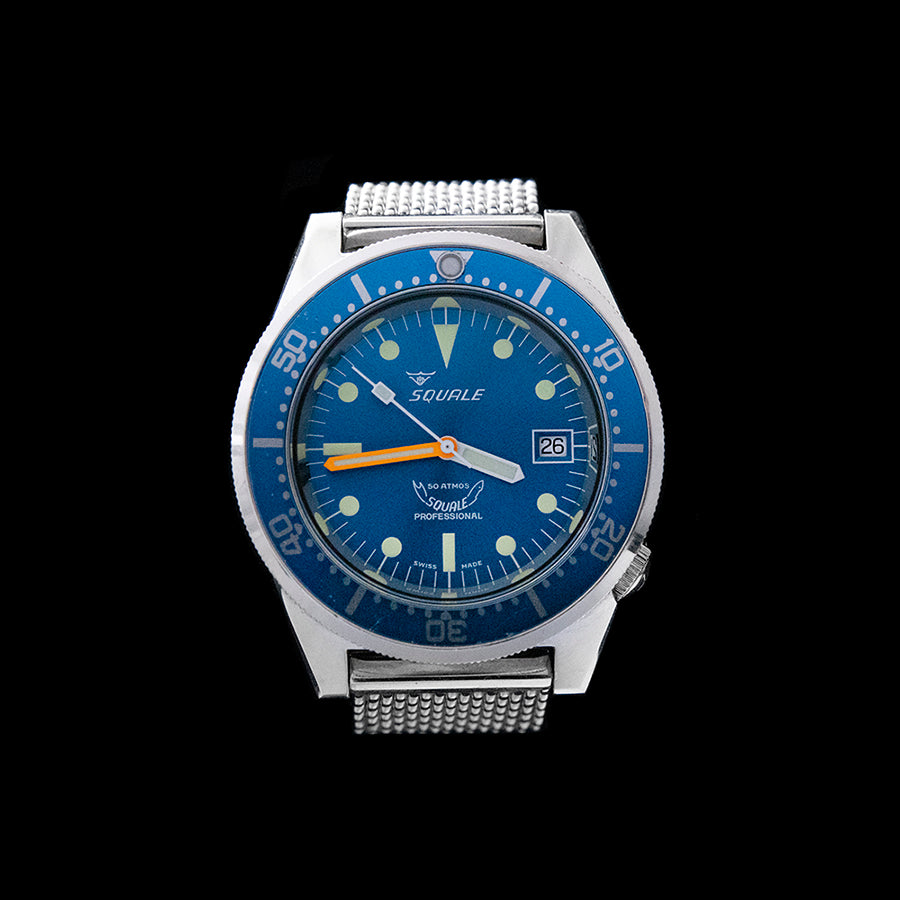 Squale - 50 ATMOS Blue
