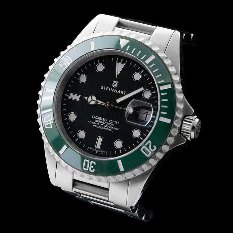 Steinhart - Ocean One Green Ceramic