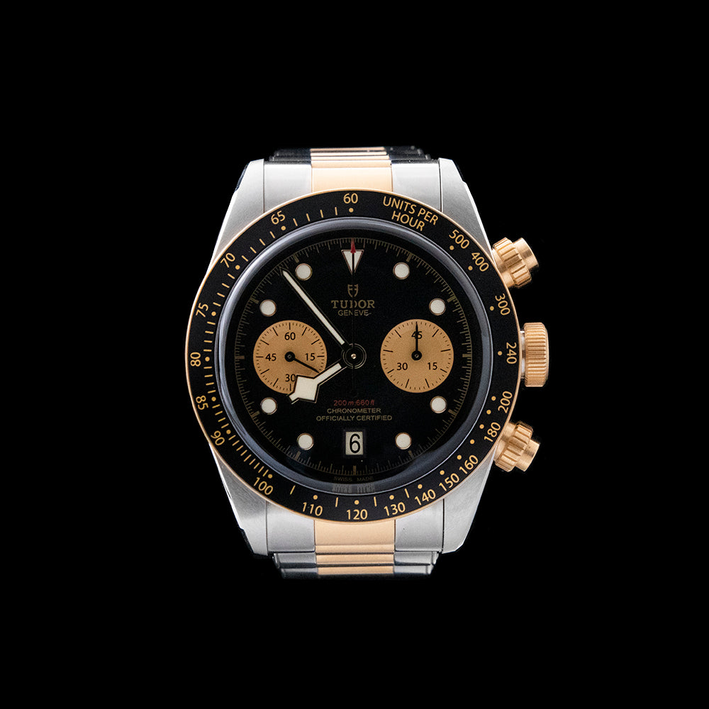 Tudor - Steel & Gold Chronograph