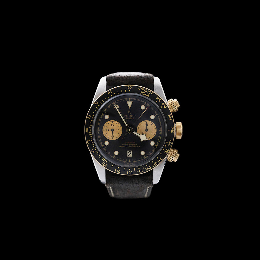 Tudor - Steel and Gold Black Bay Chronograph