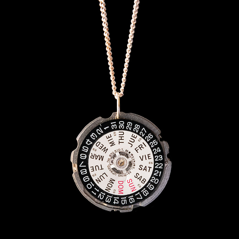 Watch Movement Necklace - Scarlett