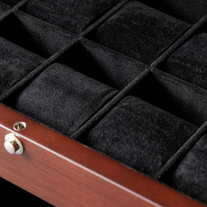 Watch Box - 10 Slot High Quality Solid Walnut