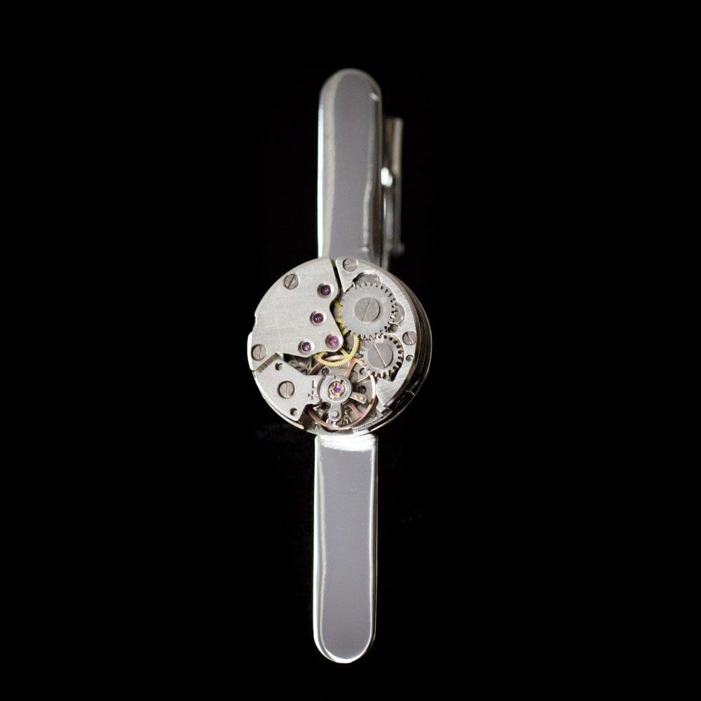 Tie Clip Watch Movement