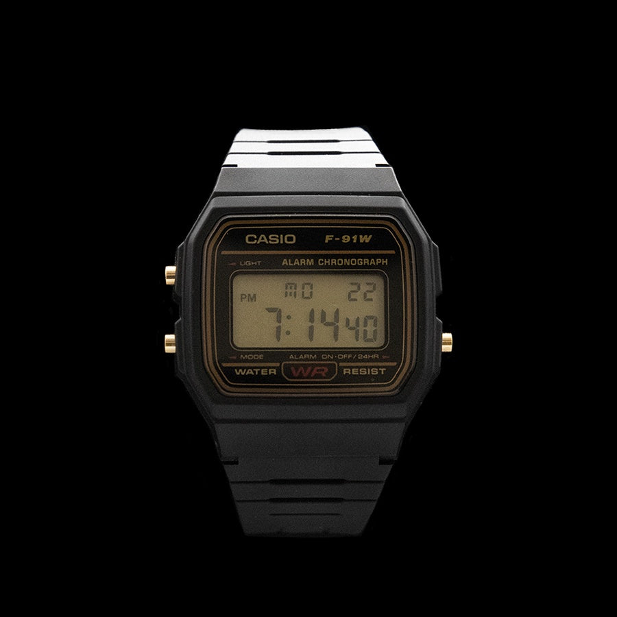 Casio - Classic Sports Chronograph Alarm F-91W