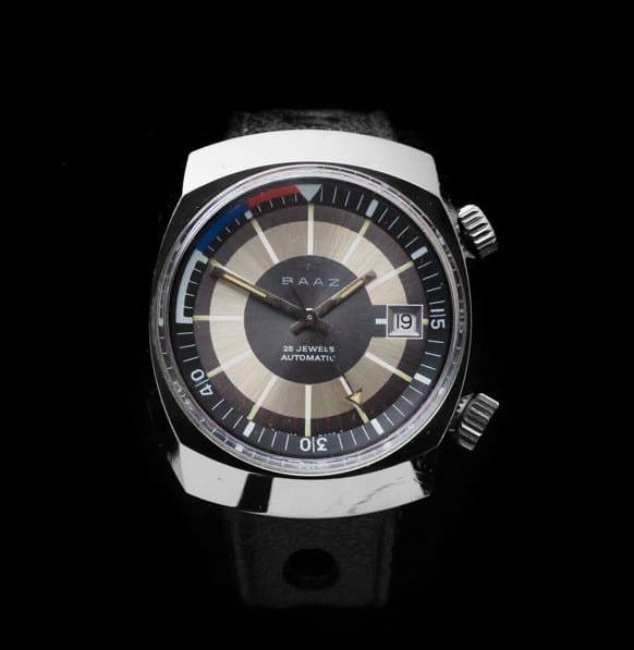 BAAZ - Dive Watch with Internal Rotating Bezel