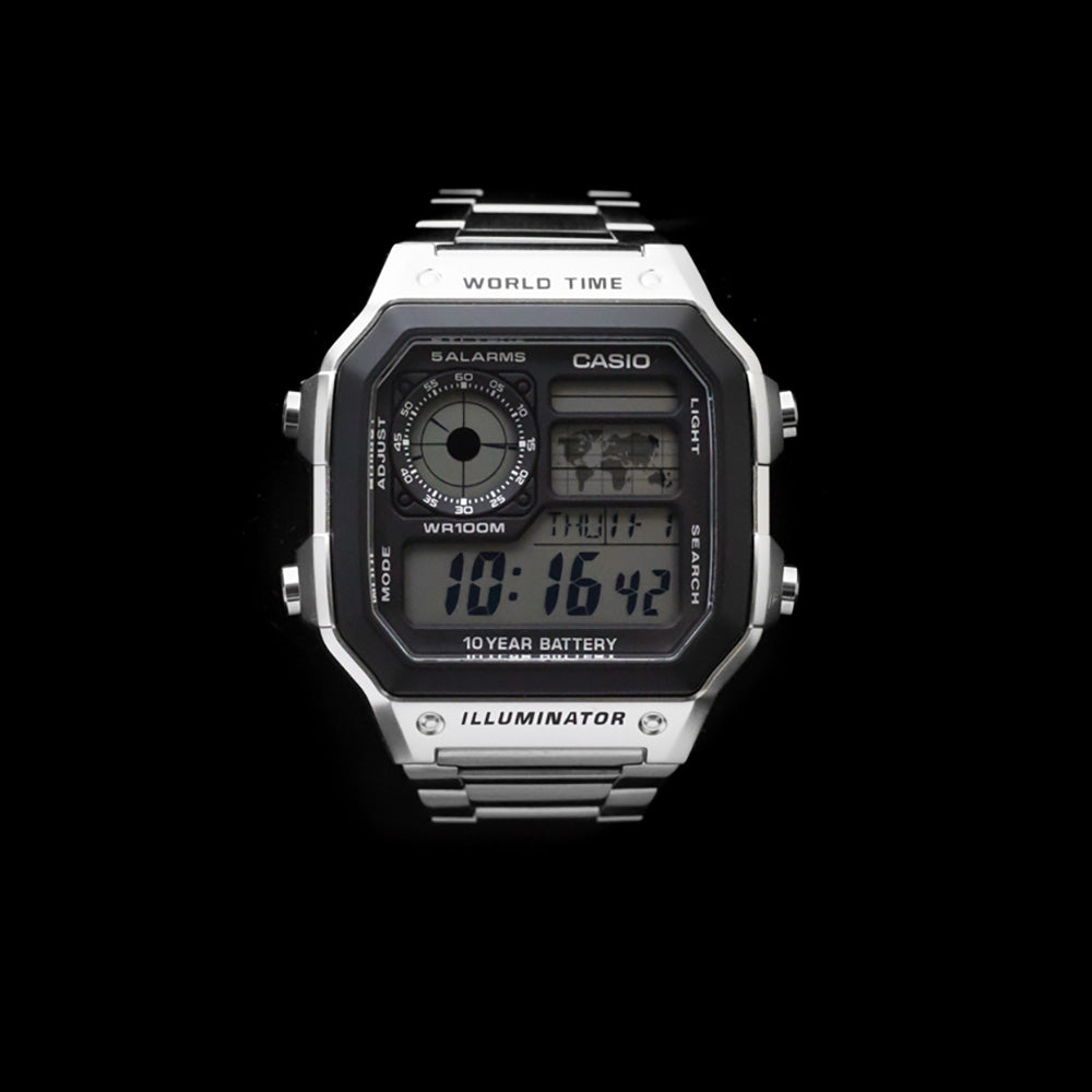 Casio Worldtimer Alarm Digital Watch