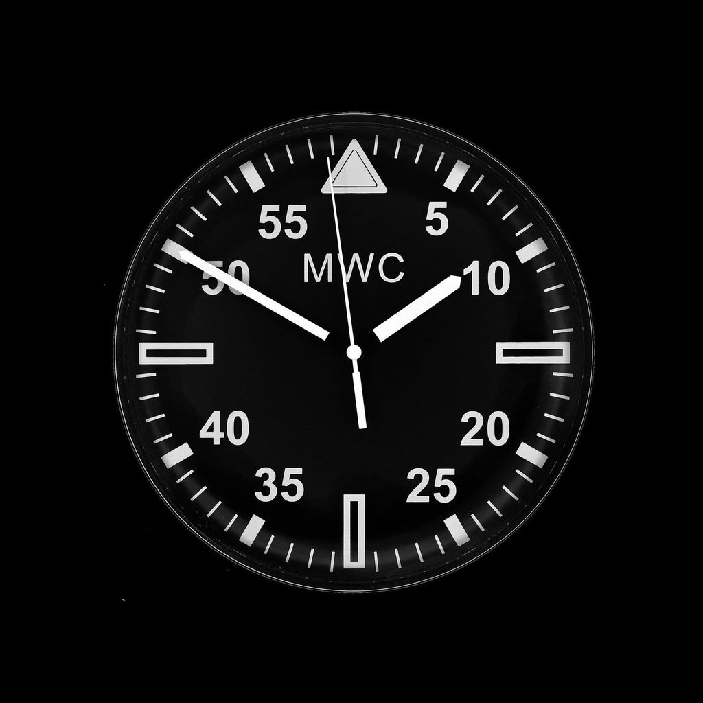 "MWC - Military Pattern 22.5 cm (approx 9"") Wall Clock"