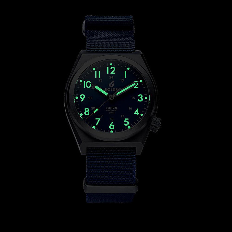 BOLDR - Venture Automatic Navy Blue