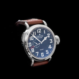 Zenith Montre D'Aeronef Type 20 GMT Pilot Watch
