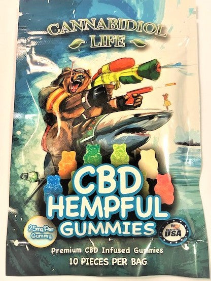 CANNABIDIOL LIFE HELPFUL CBD GUMMIES ~ 250mg