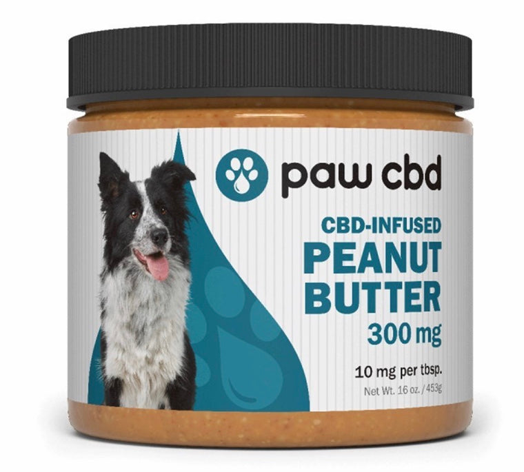 CbdMD CBD Infused Peanut Butter for Dogs ~ 16oz