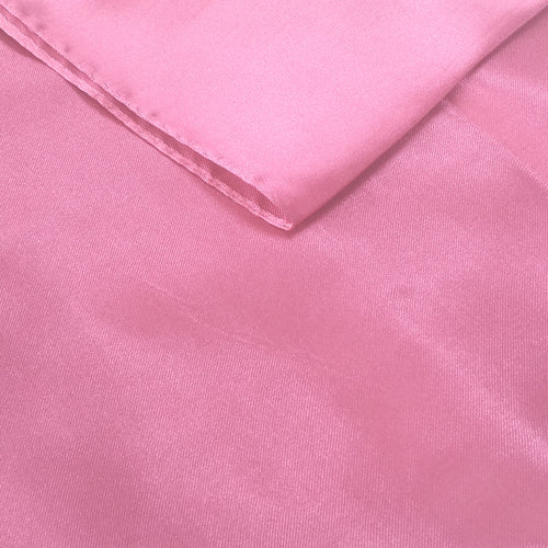 Light Pink Satin Table Runner