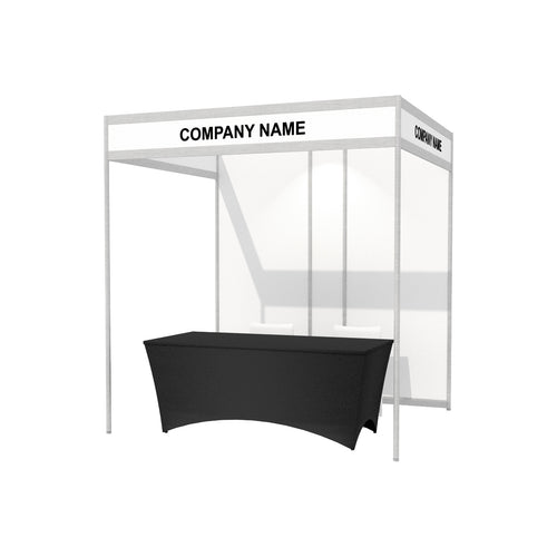2.4 x 2m Octanorm Expo Stand - Open Sides