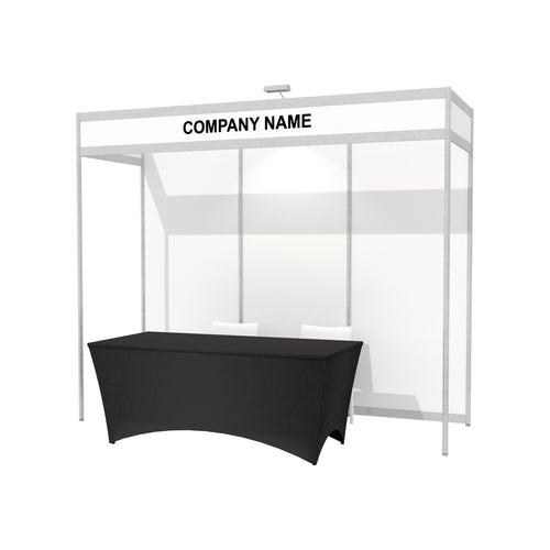 3m x 1m Octanorm Expo Stand - Open Sides