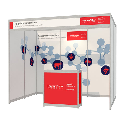 3m x 2m Octanorm Expo Stand - Custom Print