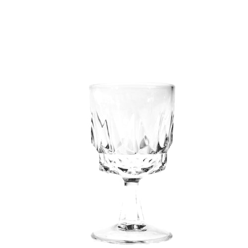 Vintage White Wine Glass