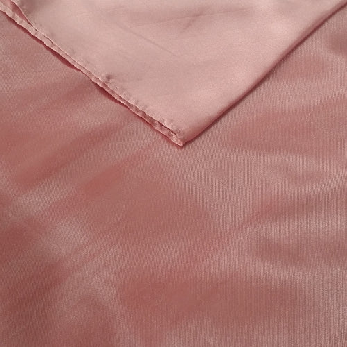 Dusty Rose Satin Table Runner