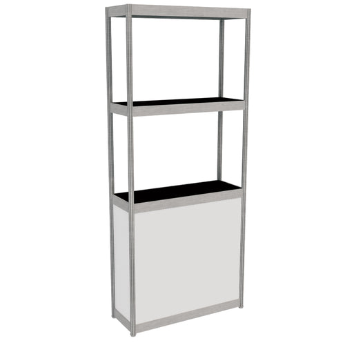 Display Tower - White 95cm