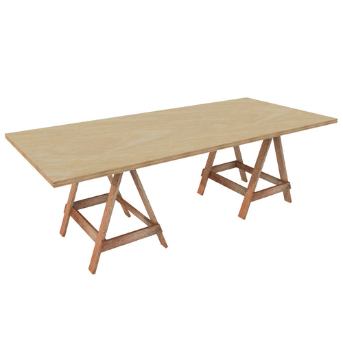Vineyard Timber Trestle Table