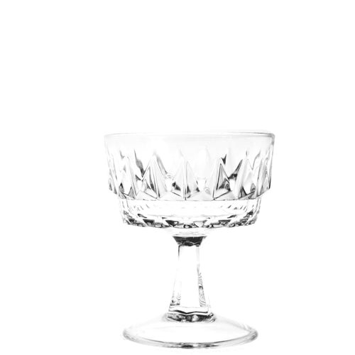 Vintage Champagne Coupe