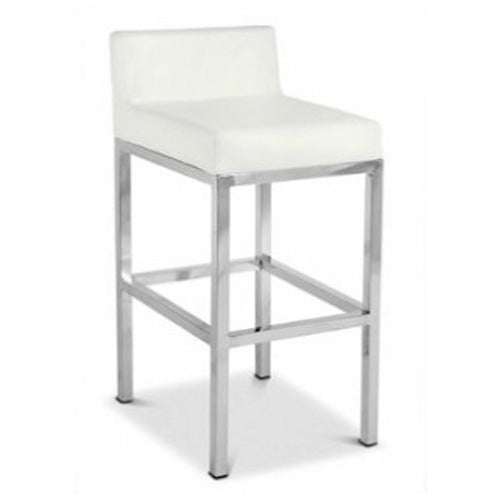 White Club High Bar Stool