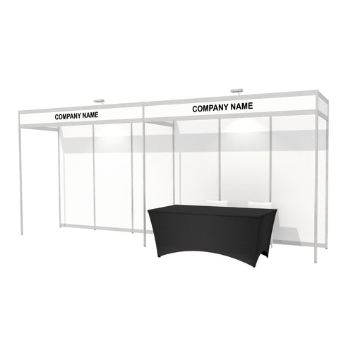 6 x 1m Octanorm Expo Stand - Open Sides