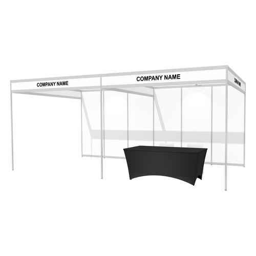 6 x 3m Octanorm Expo Stand - Open Sides