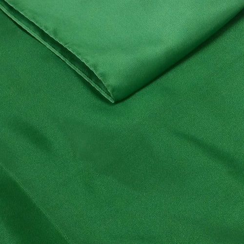 Green Satin Table Runner
