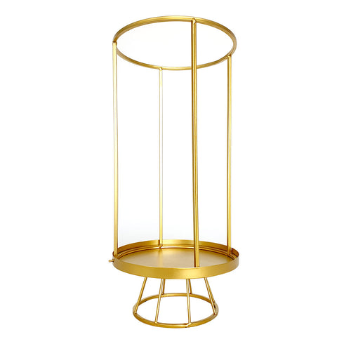 Gold Cage Centerpiece
