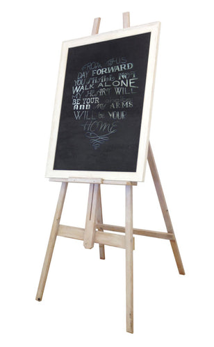 Large Easel With Chalkboard