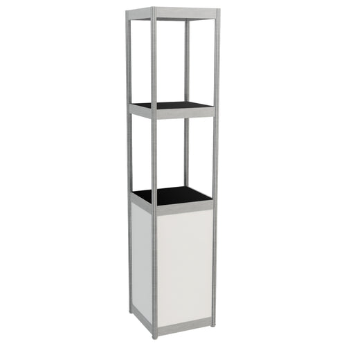 Display Tower - White 45cm