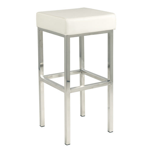 White Club Bar Stool