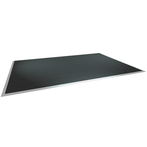 Black Tile Dance Floor