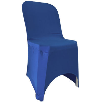 Navy Blue Lycra Chair Cover