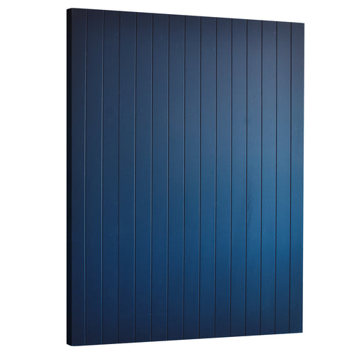 Timber Panel Wall - Navy