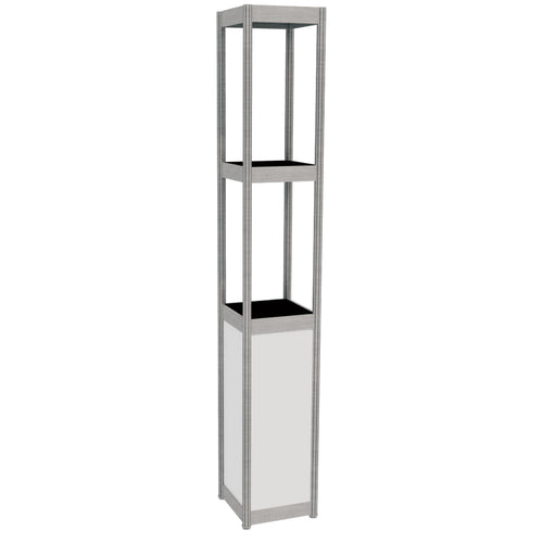 Display Tower - White 30cm