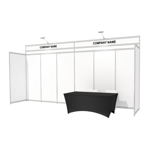 6 x 1m Octanorm Trade Stand Stand