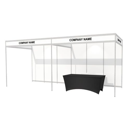 6 x 2m Octanorm Expo Stand - Open Sides