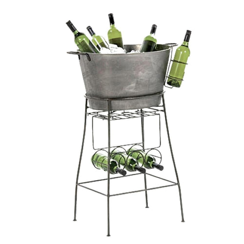Large Grey Drink Cooler