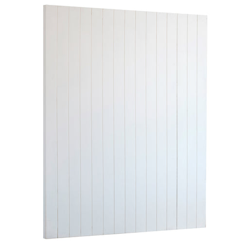 Timber Panel Wall - Whitte