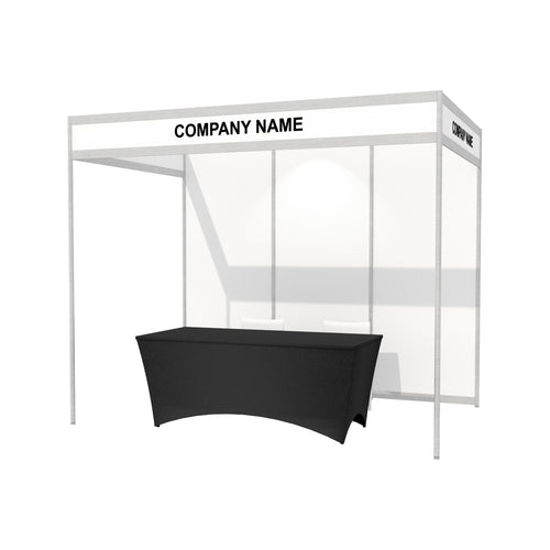 3m x 2m Octanorm Expo Stand - Open Sides