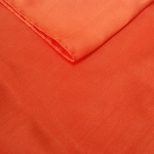 Orange Satin Chair Sash