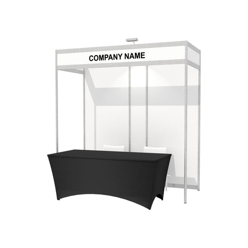 2.4 x 1m Octanorm Expo Stand - Open Sides