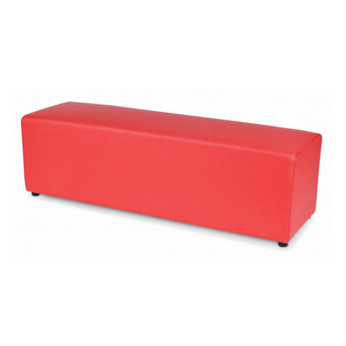 Red Bench Ottoman