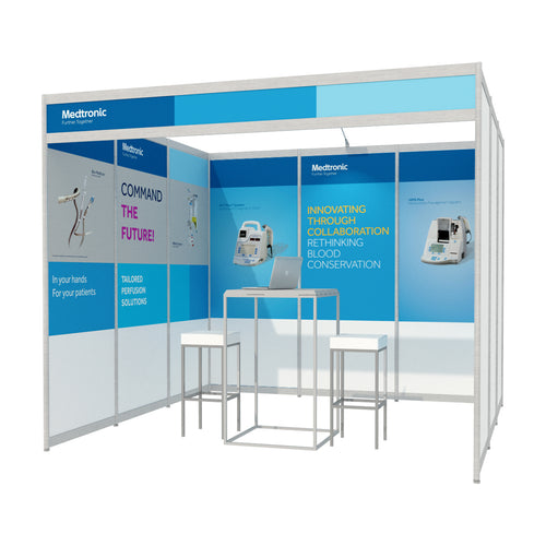 3m x 3m Octanorm Expo Stand - Custom Print