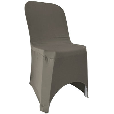 Dark Grey Lycra Chair Cover