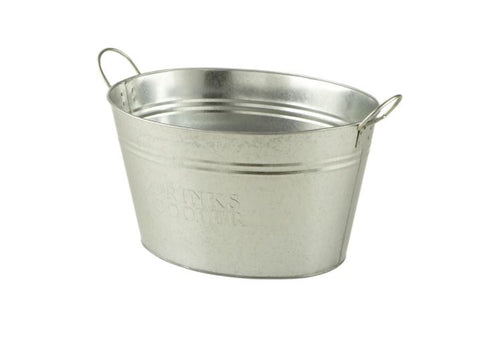 Silver Drinks Tub